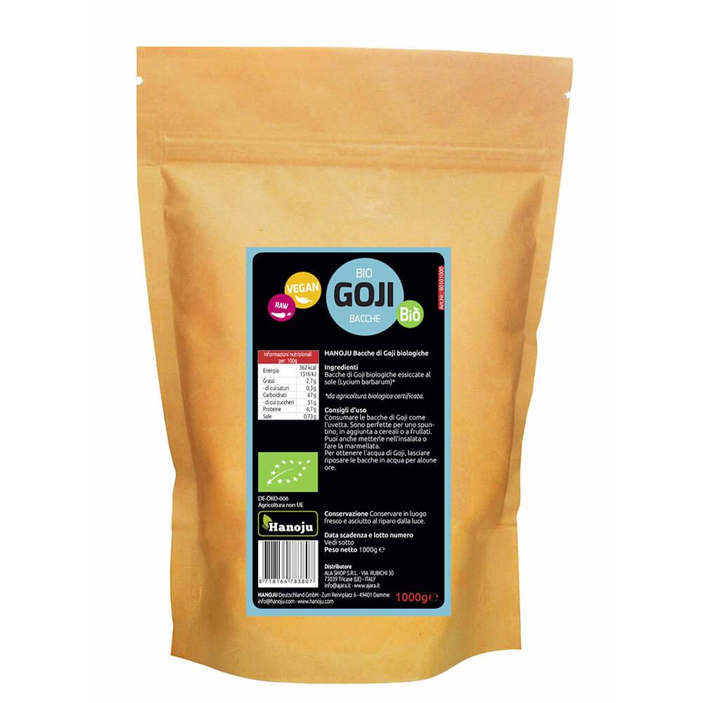 Organic Goji berries 1000 gr