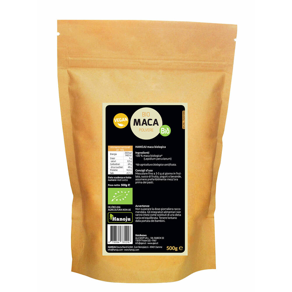 Maca powder 500 gram pack