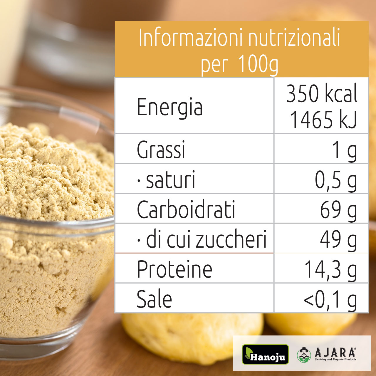 Maca powder properties