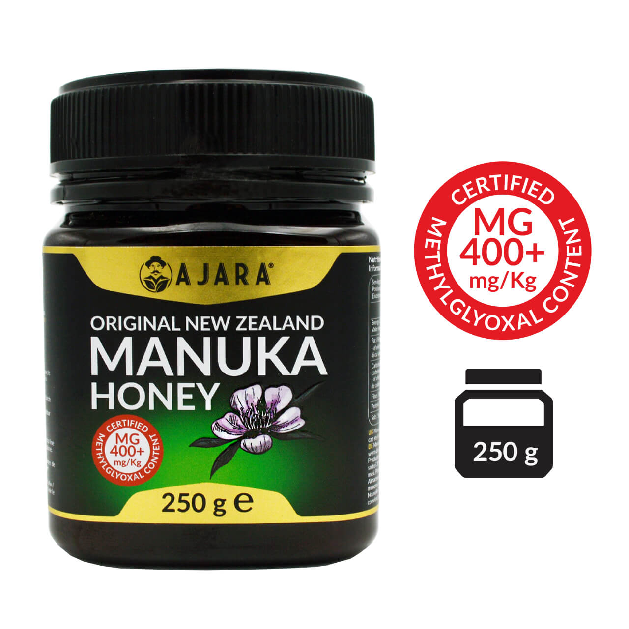 Manuka honey MG 400+ 250g