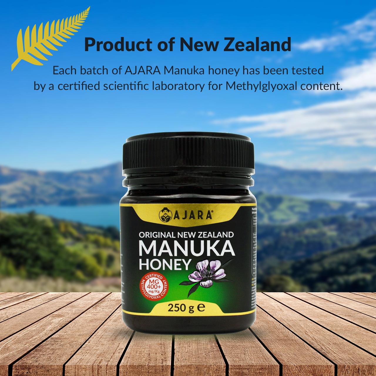 Miele di Manuka Certificato della Nuova Zelanda
