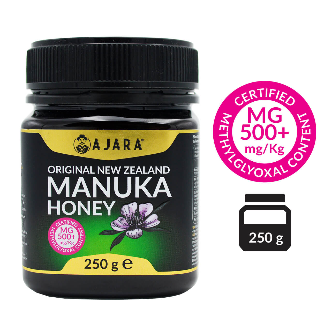 Manuka honey MG 500+ 250g