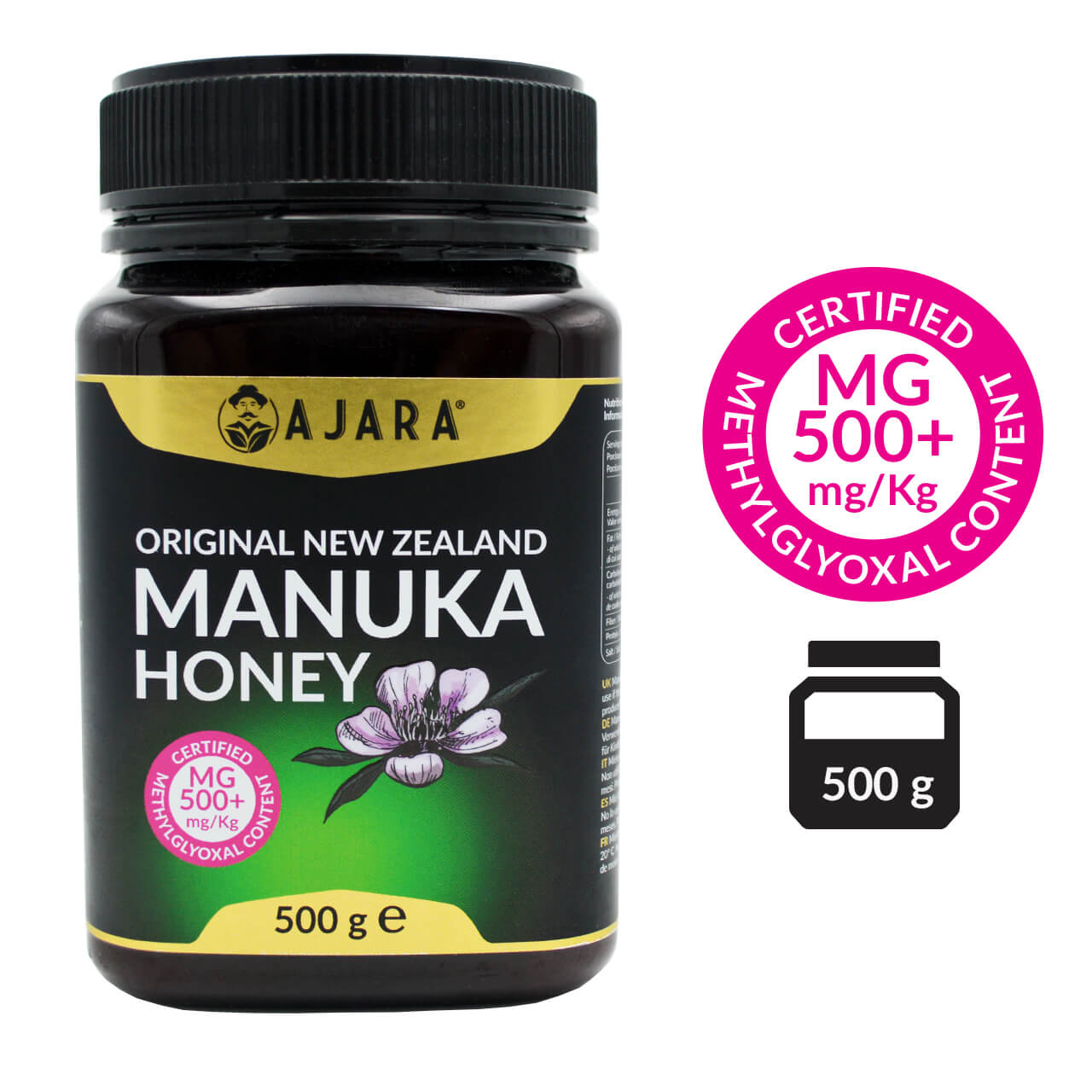 Manuka honey MG 500+ 500g