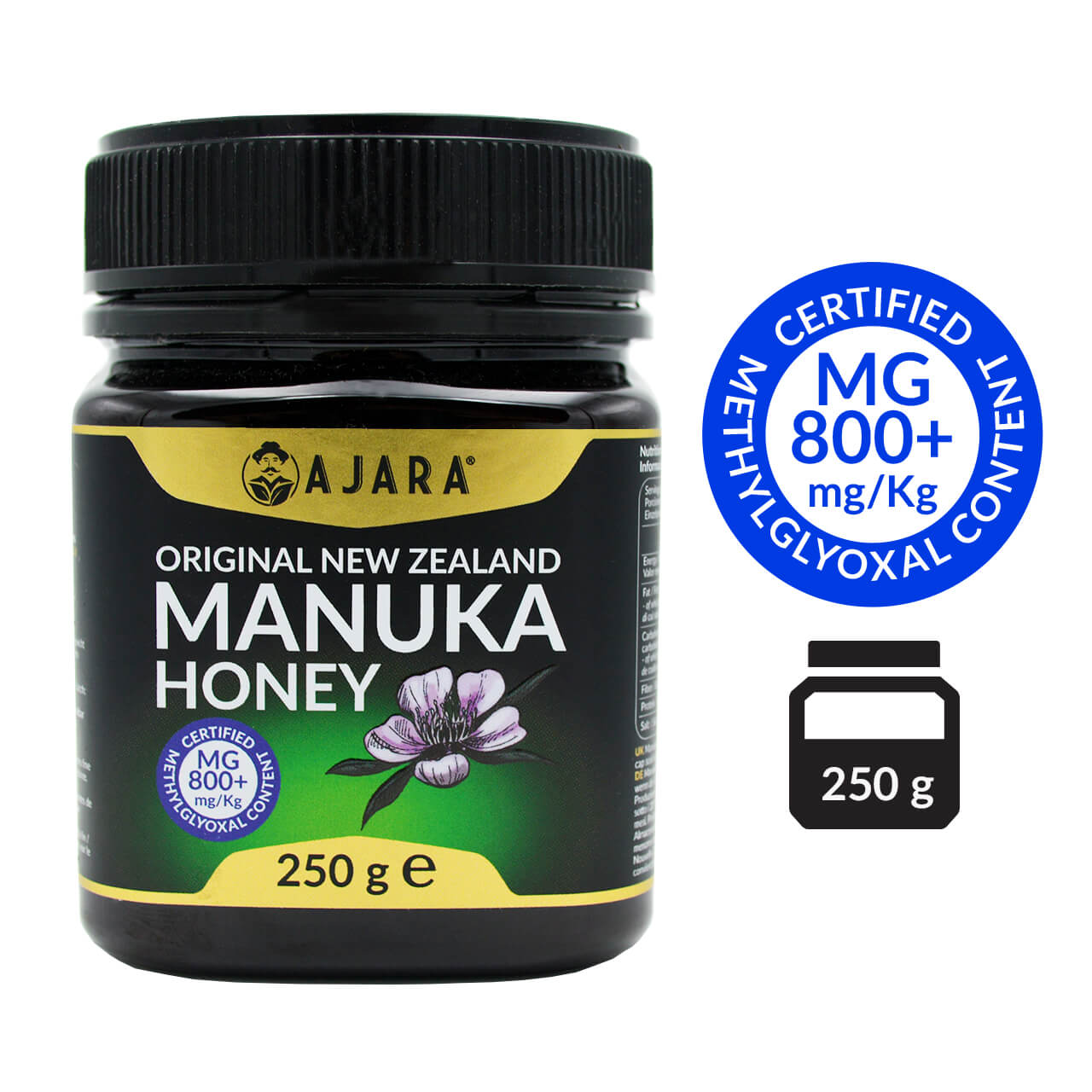 Manuka honey MG 800+ 250g