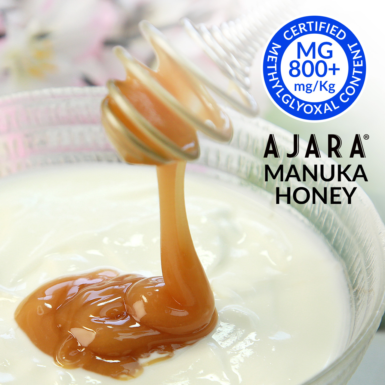 Active and therapeutic Manuka honey
