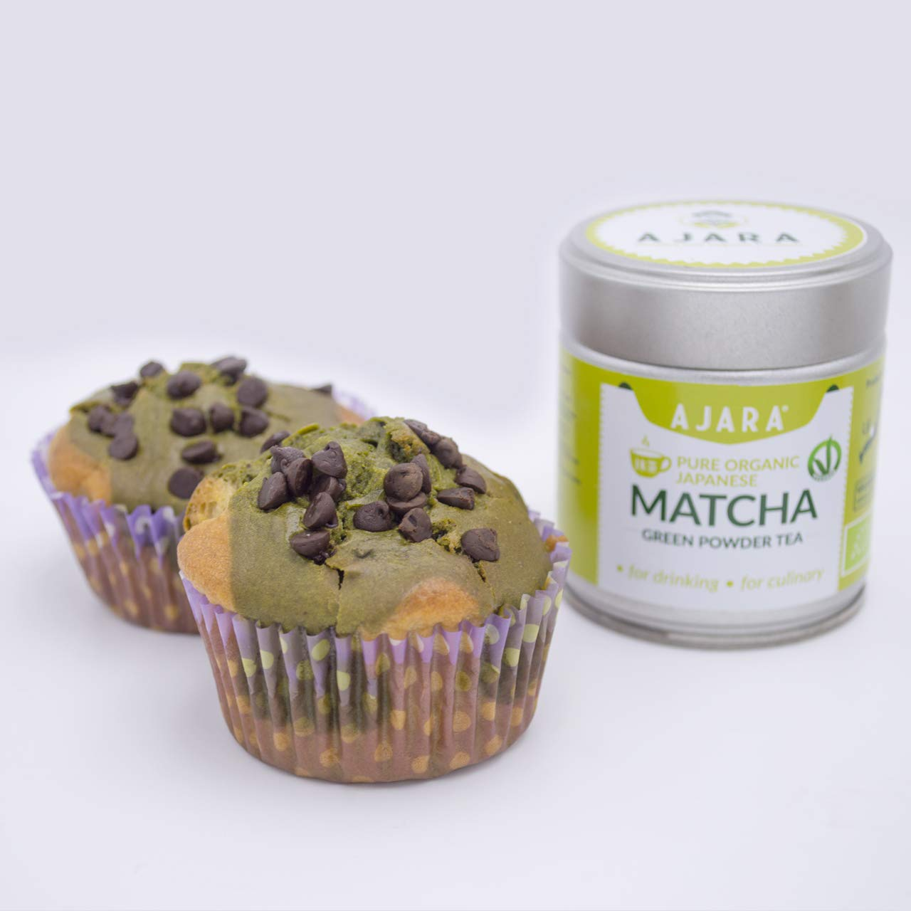 Matcha green tea desserts