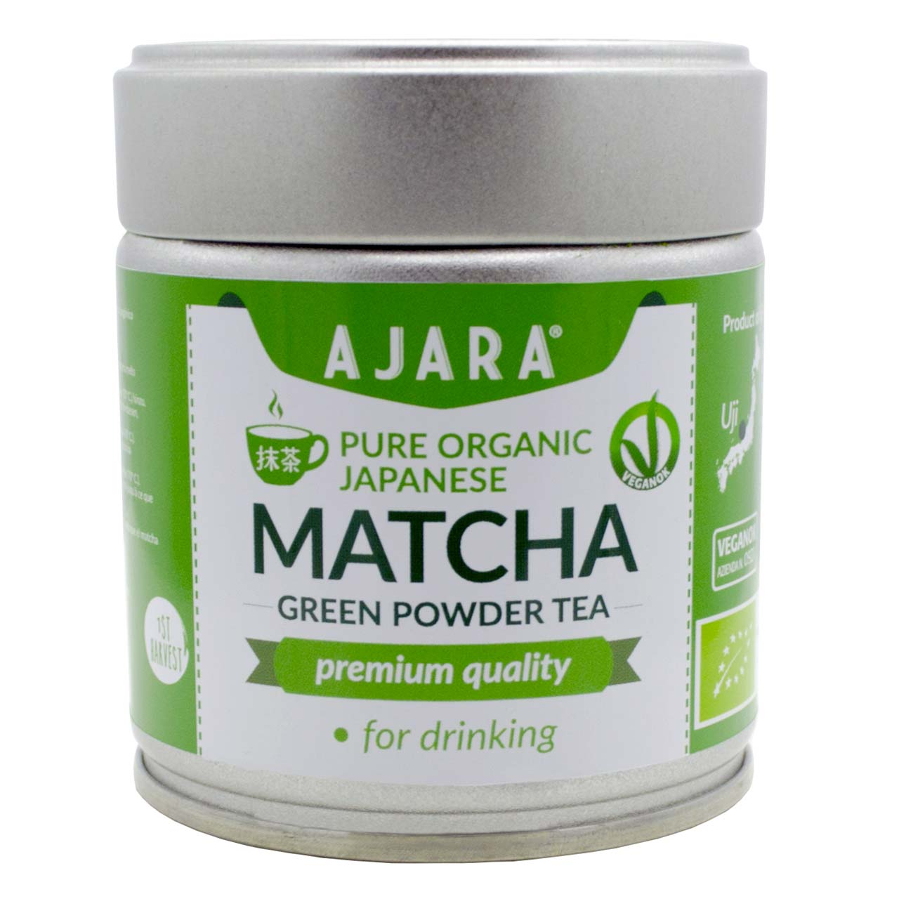 Organic Matcha Green Tea in Japanese powder
