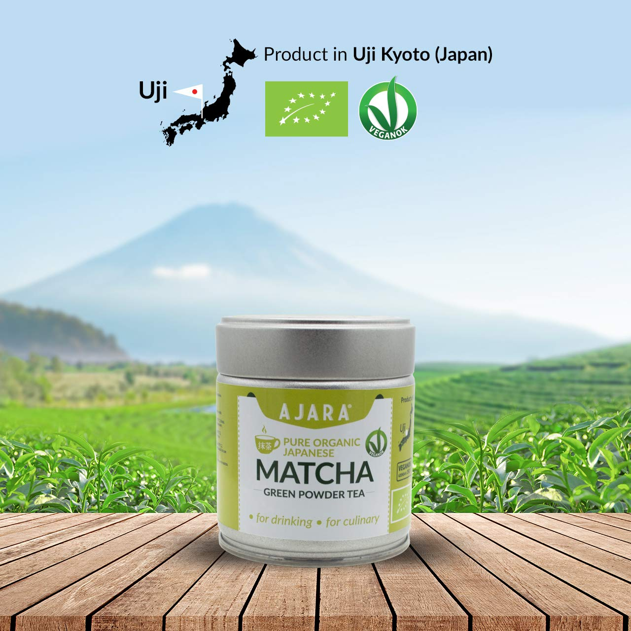 Matcha green tea Uji Kyoto Japan