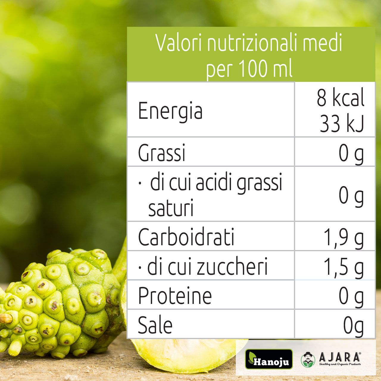 Noni benefits juice