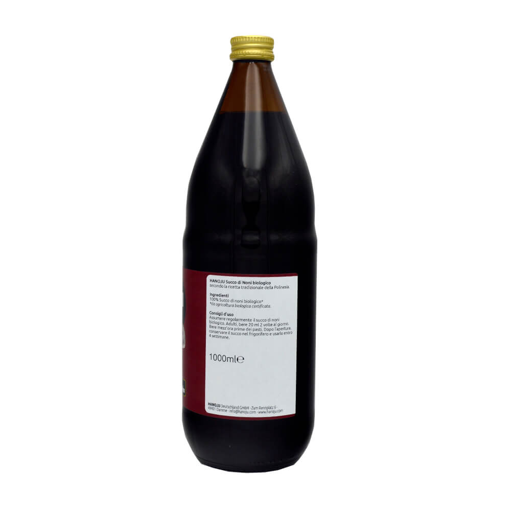 Noni juice from Polynesia